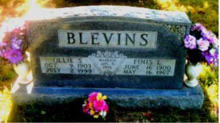 BLEVINS, OLLIE  SUSANNA - Boone County, Arkansas | OLLIE  SUSANNA BLEVINS - Arkansas Gravestone Photos