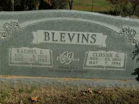 BLEVINS, CLOSSIE G. - Boone County, Arkansas | CLOSSIE G. BLEVINS - Arkansas Gravestone Photos