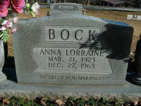 BOCK, ANNA LORRAINE - Boone County, Arkansas | ANNA LORRAINE BOCK - Arkansas Gravestone Photos