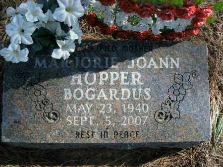 HOPPER BOGARDUS, MARJORIE JOANN - Boone County, Arkansas | MARJORIE JOANN HOPPER BOGARDUS - Arkansas Gravestone Photos