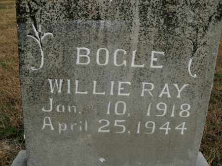 BOGLE, WILLIE RAY - Boone County, Arkansas | WILLIE RAY BOGLE - Arkansas Gravestone Photos
