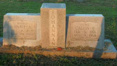 BOHANNAN, CALVIN W. - Boone County, Arkansas | CALVIN W. BOHANNAN - Arkansas Gravestone Photos