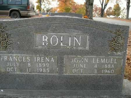 BOLIN, JOHN LEMUEL - Boone County, Arkansas | JOHN LEMUEL BOLIN - Arkansas Gravestone Photos