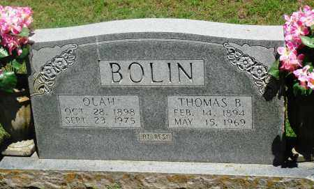 BOLIN, THOMAS B - Boone County, Arkansas | THOMAS B BOLIN - Arkansas Gravestone Photos