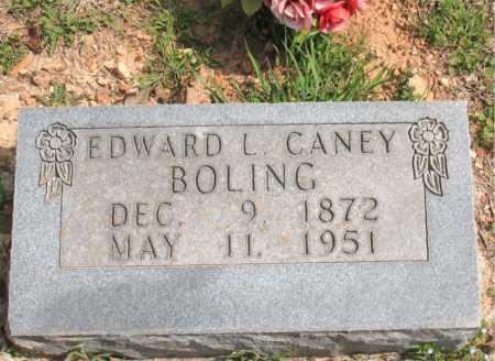 BOLING, EDWARD L. CANEY - Boone County, Arkansas | EDWARD L. CANEY BOLING - Arkansas Gravestone Photos