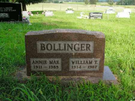 BOLINGER, WILLIAM T. - Boone County, Arkansas | WILLIAM T. BOLINGER - Arkansas Gravestone Photos