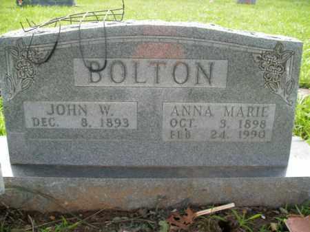 BOLTON, ANNA MARIE - Boone County, Arkansas | ANNA MARIE BOLTON - Arkansas Gravestone Photos