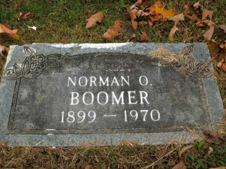 BOOMER, NORMAN  O. - Boone County, Arkansas | NORMAN  O. BOOMER - Arkansas Gravestone Photos