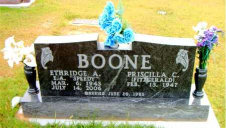 BOONE, ETHRIDGE  A - Boone County, Arkansas | ETHRIDGE  A BOONE - Arkansas Gravestone Photos