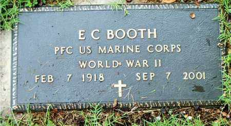 BOOTH  (VETERAN WWII), E. C. - Boone County, Arkansas | E. C. BOOTH  (VETERAN WWII) - Arkansas Gravestone Photos