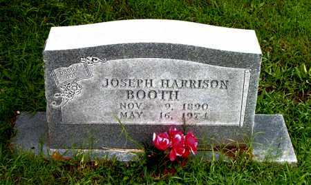 BOOTH, JOSEPH HARRISON - Boone County, Arkansas | JOSEPH HARRISON BOOTH - Arkansas Gravestone Photos