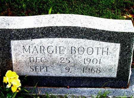 BOOTH, MARGIE - Boone County, Arkansas | MARGIE BOOTH - Arkansas Gravestone Photos