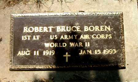 BOREN  (VETERAN WWII), ROBERT BRUCE - Boone County, Arkansas | ROBERT BRUCE BOREN  (VETERAN WWII) - Arkansas Gravestone Photos