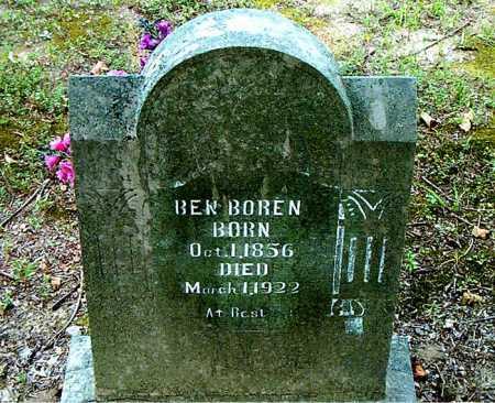BOREN, BENJAMIN DOLAN - Boone County, Arkansas | BENJAMIN DOLAN BOREN - Arkansas Gravestone Photos