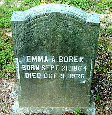 BOREN, EMMA AYRES - Boone County, Arkansas | EMMA AYRES BOREN - Arkansas Gravestone Photos
