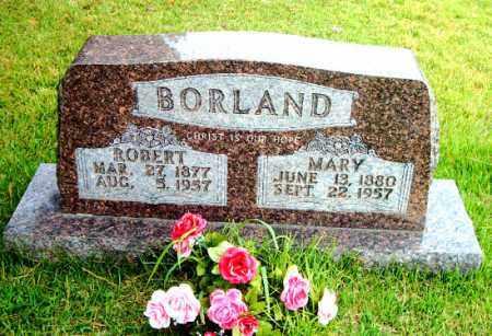 BORLAND, ROBERT TILLMAN - Boone County, Arkansas | ROBERT TILLMAN BORLAND - Arkansas Gravestone Photos