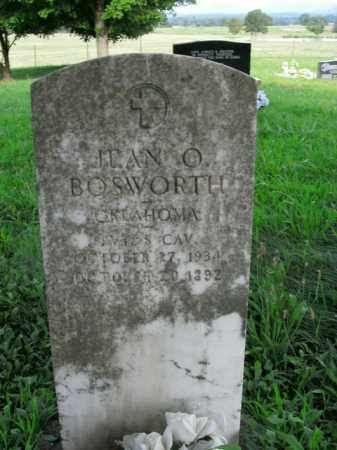 BOSWORTH  (VETERAN), JEAN O. - Boone County, Arkansas | JEAN O. BOSWORTH  (VETERAN) - Arkansas Gravestone Photos
