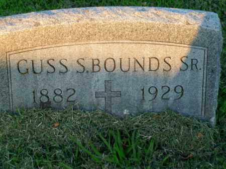BOUNDS, GUSS S., SR. - Boone County, Arkansas | GUSS S., SR. BOUNDS - Arkansas Gravestone Photos