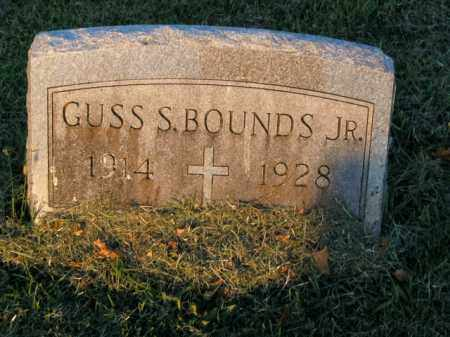 BOUNDS, GUSS S., JR. - Boone County, Arkansas | GUSS S., JR. BOUNDS - Arkansas Gravestone Photos