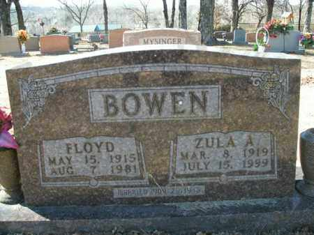 BOWEN, FLOYD - Boone County, Arkansas | FLOYD BOWEN - Arkansas Gravestone Photos