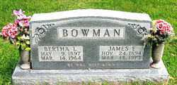 BOWMAN, JAMES - Boone County, Arkansas | JAMES BOWMAN - Arkansas Gravestone Photos