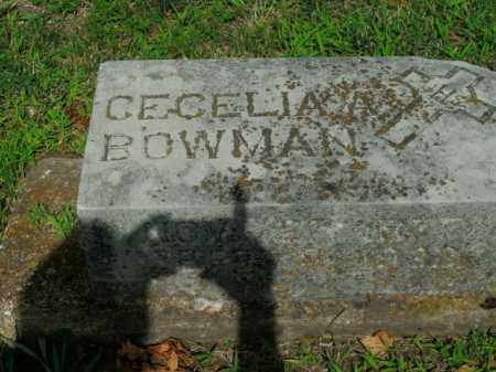 BOWMAN, CECELIA - Boone County, Arkansas | CECELIA BOWMAN - Arkansas Gravestone Photos