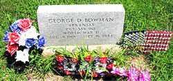BOWMAN  (VETERAN WWII), GEORGE D - Boone County, Arkansas   GEORGE D BOWMAN  (VETERAN WWII) - Arkansas Gravestone Photos