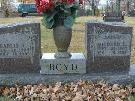 BOYD, MILDRED L. - Boone County, Arkansas | MILDRED L. BOYD - Arkansas Gravestone Photos