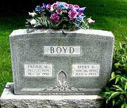 ANDREWS BOYD, FRONIE M. - Boone County, Arkansas | FRONIE M. ANDREWS BOYD - Arkansas Gravestone Photos