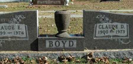 BOYD, CLAUDE D. - Boone County, Arkansas | CLAUDE D. BOYD - Arkansas Gravestone Photos