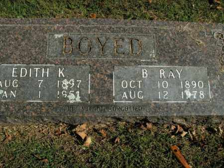 BOYED, EDITH K. - Boone County, Arkansas | EDITH K. BOYED - Arkansas Gravestone Photos
