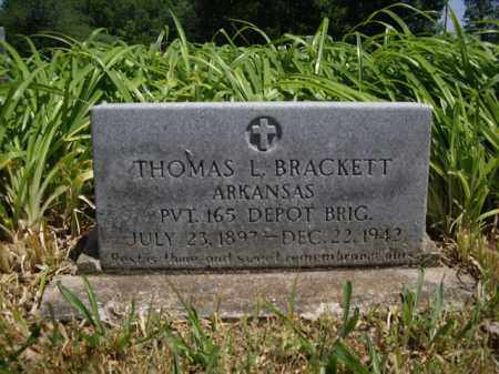 BRACKETT  (VETERAN), THOMAS L. - Boone County, Arkansas | THOMAS L. BRACKETT  (VETERAN) - Arkansas Gravestone Photos