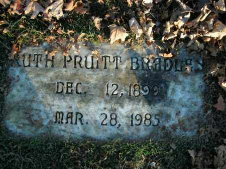 PRUITT BRADLEY, RUTH - Boone County, Arkansas | RUTH PRUITT BRADLEY - Arkansas Gravestone Photos