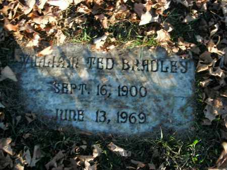 BRADLEY, WILLIAM TED - Boone County, Arkansas | WILLIAM TED BRADLEY - Arkansas Gravestone Photos