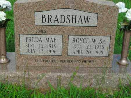 BRADSHAW, ROYCE W. SR. - Boone County, Arkansas | ROYCE W. SR. BRADSHAW - Arkansas Gravestone Photos