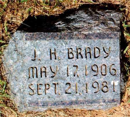 BRADY, J.  H. - Boone County, Arkansas | J.  H. BRADY - Arkansas Gravestone Photos