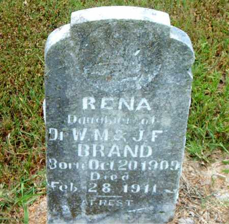 BRAND, RENA - Boone County, Arkansas | RENA BRAND - Arkansas Gravestone Photos