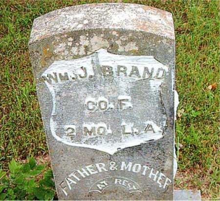 BRAND, WILLIAM J. - Boone County, Arkansas | WILLIAM J. BRAND - Arkansas Gravestone Photos