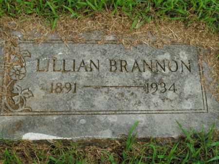 BRANNON, LILLIAN - Boone County, Arkansas | LILLIAN BRANNON - Arkansas Gravestone Photos