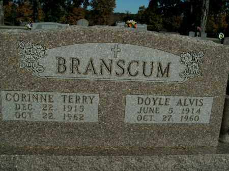 BRANSCUM, CORINNE TERRY - Boone County, Arkansas | CORINNE TERRY BRANSCUM - Arkansas Gravestone Photos