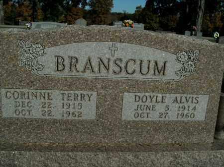 BRANSCUM, DOYLE ALVIS - Boone County, Arkansas | DOYLE ALVIS BRANSCUM - Arkansas Gravestone Photos