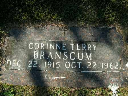 BRANSCUM, CORINNE TERRY (SECOND STONE) - Boone County, Arkansas | CORINNE TERRY (SECOND STONE) BRANSCUM - Arkansas Gravestone Photos