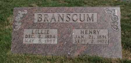 BRANSCUM, HENRY - Boone County, Arkansas | HENRY BRANSCUM - Arkansas Gravestone Photos