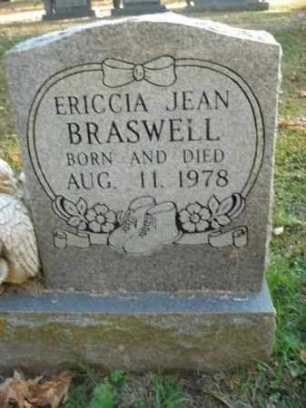 BRASWELL, ERICCIA JEAN - Boone County, Arkansas | ERICCIA JEAN BRASWELL - Arkansas Gravestone Photos