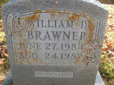 BRAWNER, WILLIAM D. - Boone County, Arkansas | WILLIAM D. BRAWNER - Arkansas Gravestone Photos