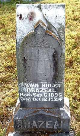 BRAZEAL, JOHN HULEN - Boone County, Arkansas | JOHN HULEN BRAZEAL - Arkansas Gravestone Photos