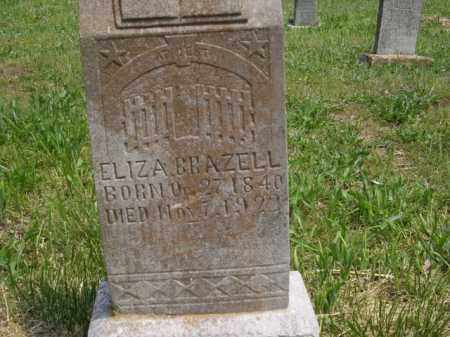 BRAZELL, ELIZA - Boone County, Arkansas | ELIZA BRAZELL - Arkansas Gravestone Photos