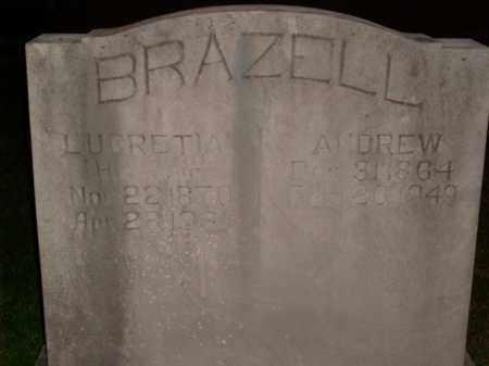 BRAZELL, ANDREW - Boone County, Arkansas | ANDREW BRAZELL - Arkansas Gravestone Photos