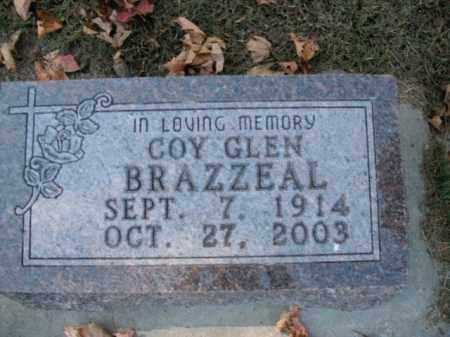 BRAZZEAL, COY GLEN - Boone County, Arkansas | COY GLEN BRAZZEAL - Arkansas Gravestone Photos
