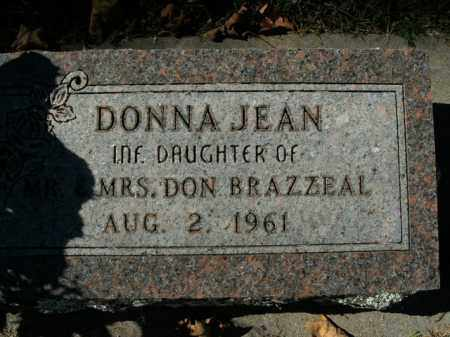 BRAZZEAL, DONNA JEAN - Boone County, Arkansas | DONNA JEAN BRAZZEAL - Arkansas Gravestone Photos